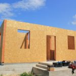 Строительство дома из сип панелей продолжается