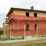 Дом из сип панелей - облицовка кирпичом