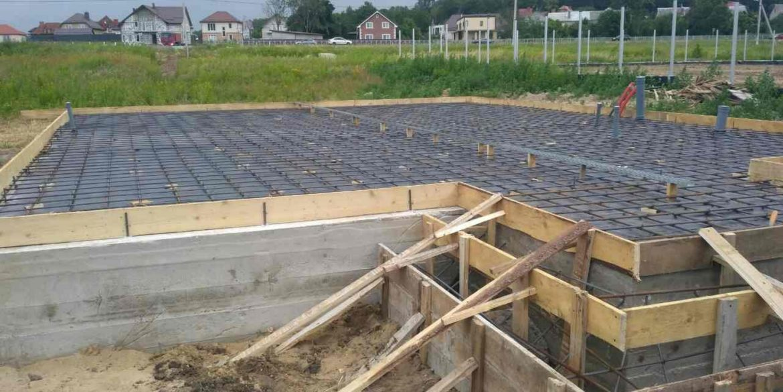 Строительство сип дома - делаем фундамент