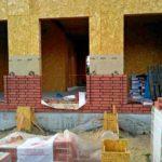 Дом из сип панелей отделка кирпичом - фото 2