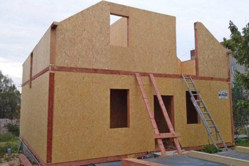 Строительство дома из сип панелей - вид 009