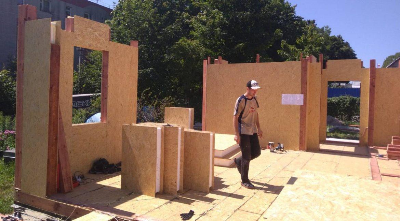 Строительство дома из сип панелей в Балтийске 06