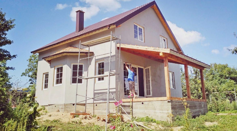 Строительство дома из сип панелей 012