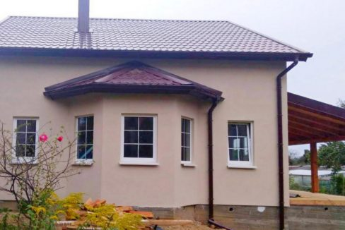 Построенный дом из сип панелей в Балтийске