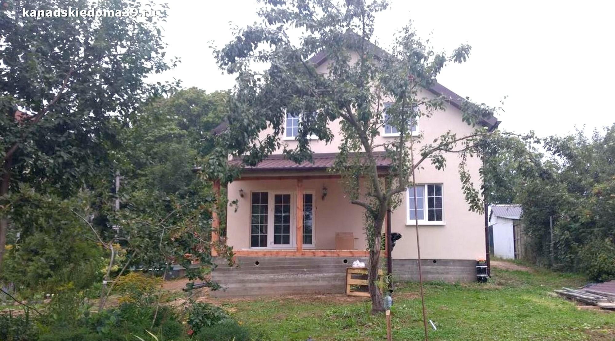 Дом из сип панелей в Балтийске