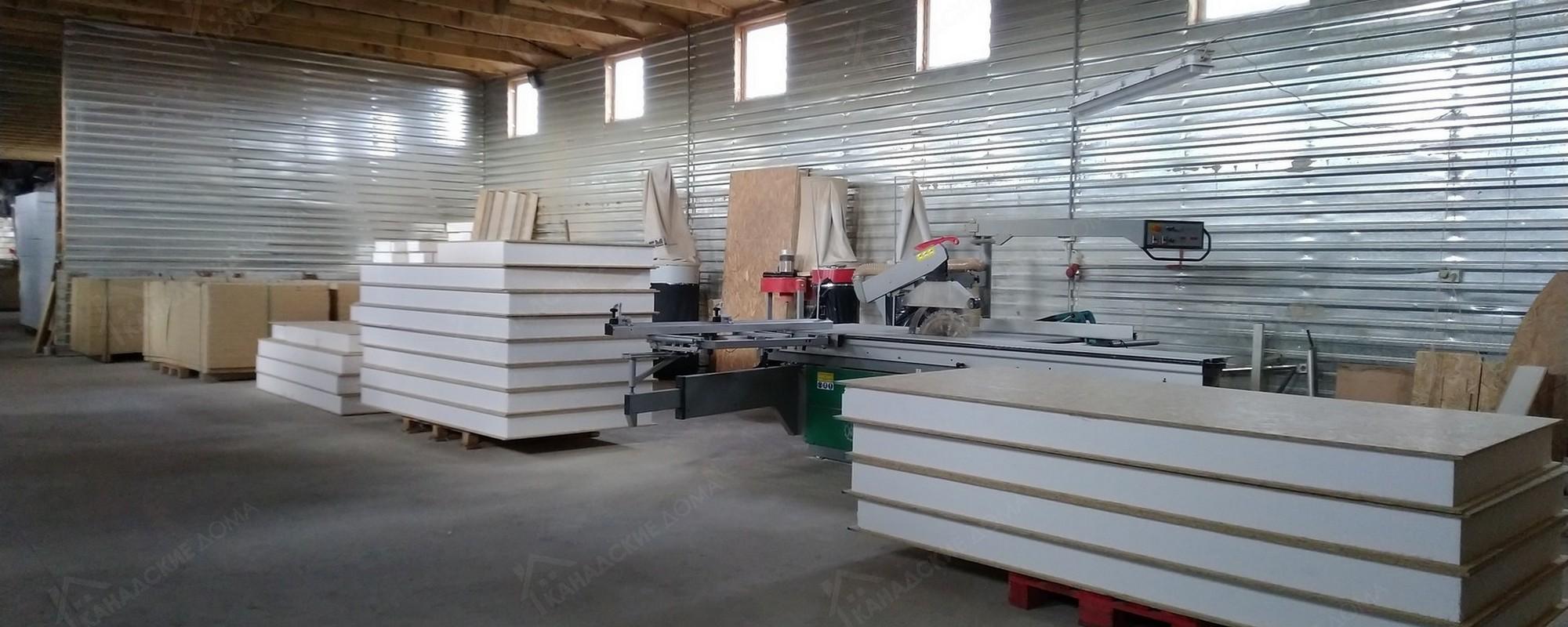 Производство сип панелей: фото 1