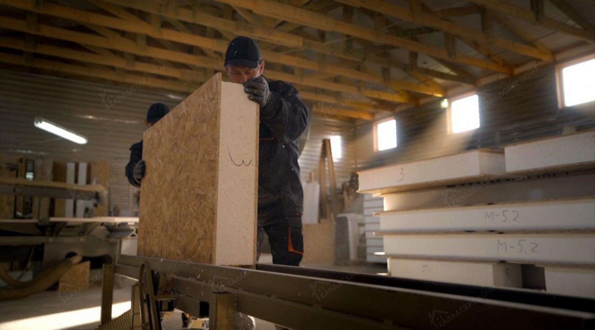 Завод  сип панелей в Гурьевске