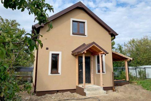 Жилой двухэтажный частный дом из сип панелей в Янтарном Калининградской области - фото 02