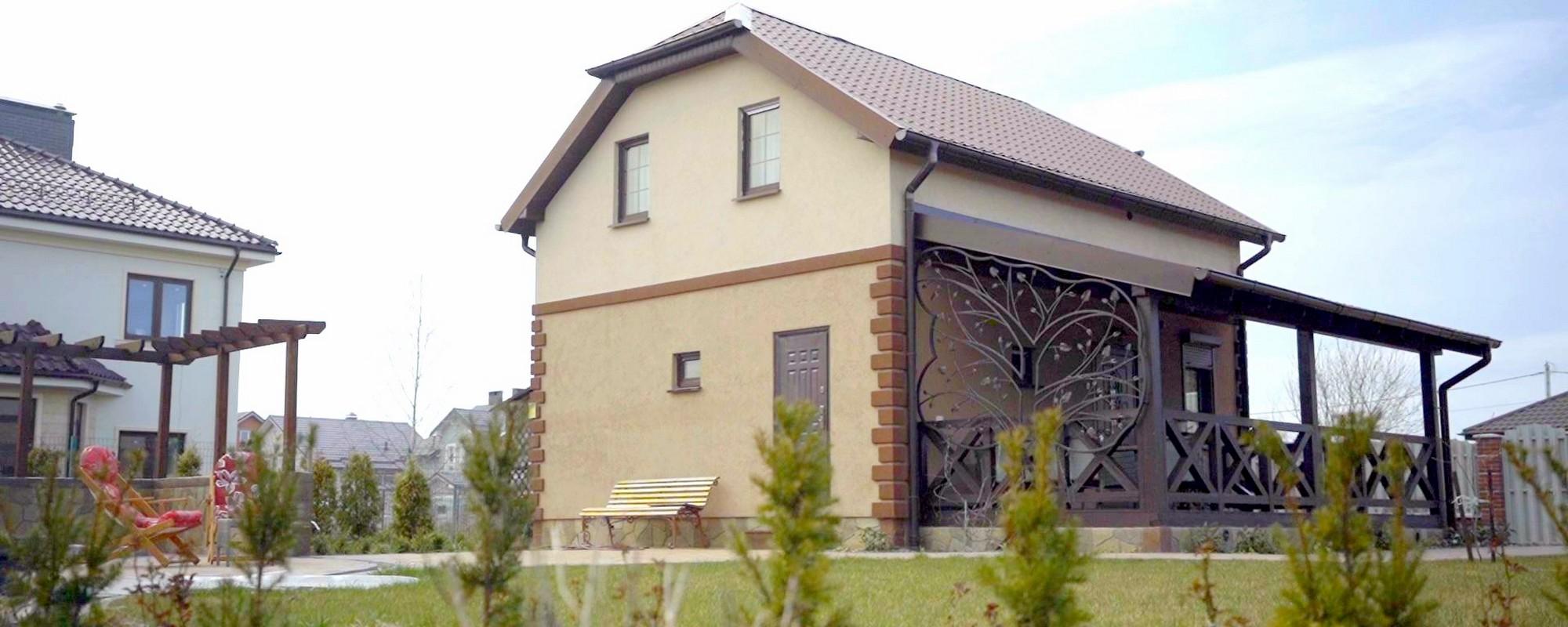 Готовый дом из сип панелей с отделкой