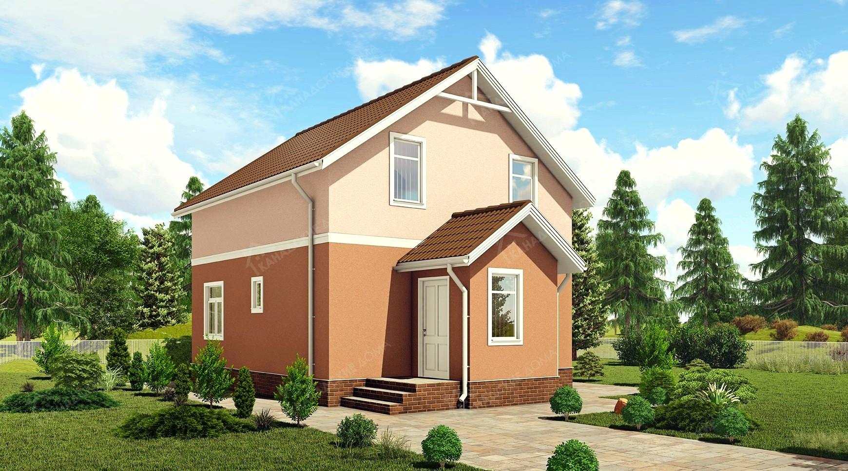 """Проект жилого дома <p>KD-1504  """"Победа""""</p>"""