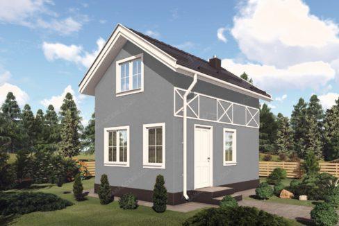 Проект дачного дома из сип панелей Мечта