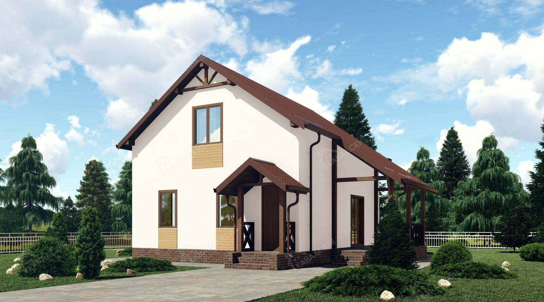 """Проект жилого дома <p>KD-1517  """"Джобс""""</p>"""