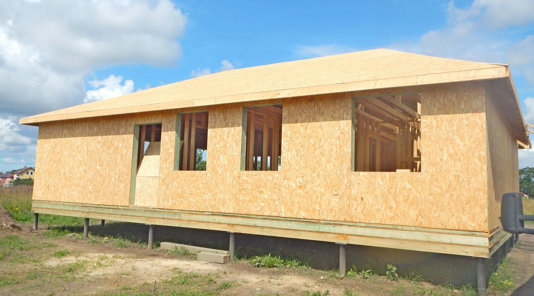 фундамент дома - дом на сваях