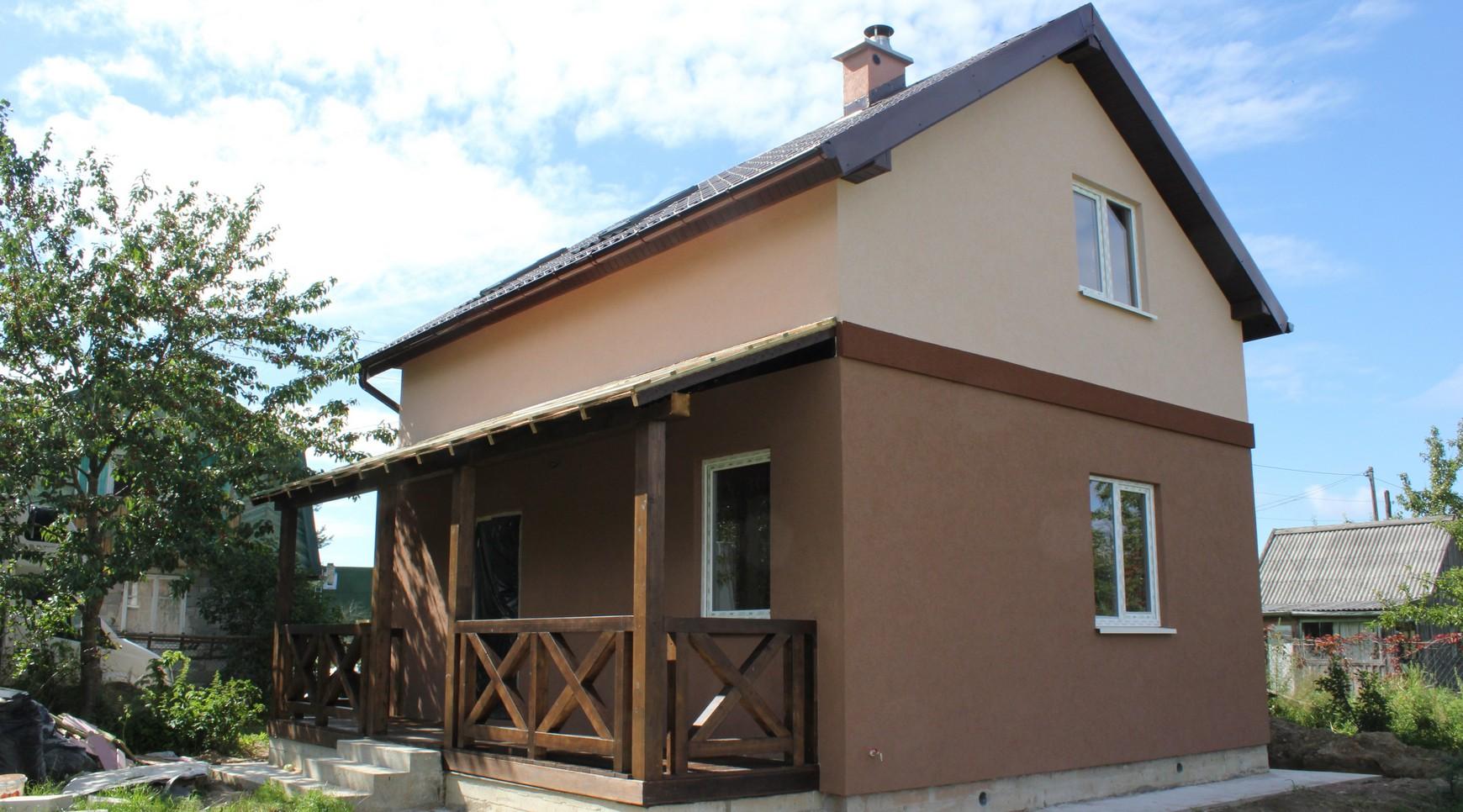 Дом с террасой в п. Отрадное