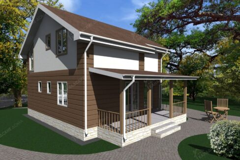 Проект дома из сип панелей Талеро