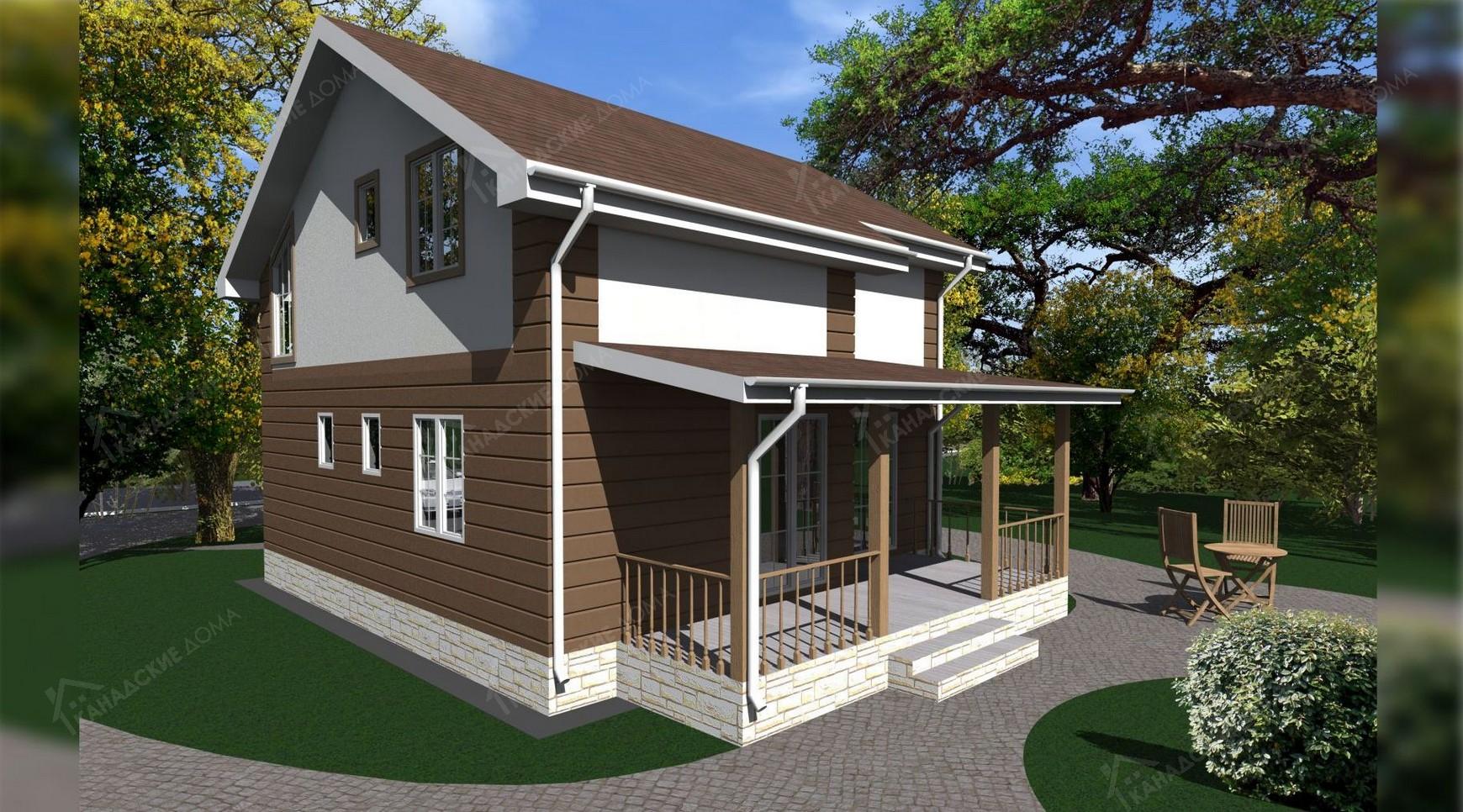 """Проект жилого дома<p> KD-0037 """"Талеро""""</p>"""