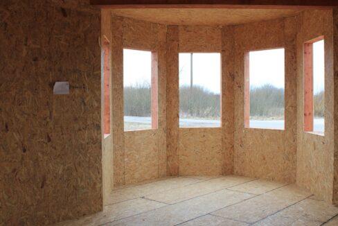 Двухэтажный дом из сип панелей - ставим стены вид внутри дома фото-010