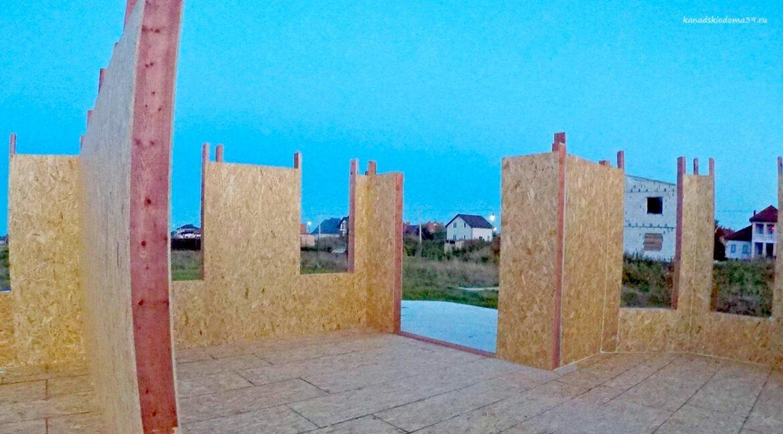 Этапы строительства сип дома. Дом приобретает свои очертания - фото 8