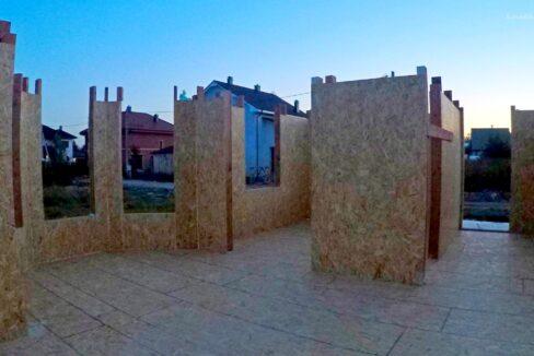 Этапы строительства сип дома. Дом приобретает свои очертания - фото 9