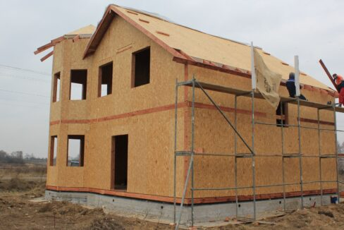Строительство сип дома - делаем крышу - фото 012