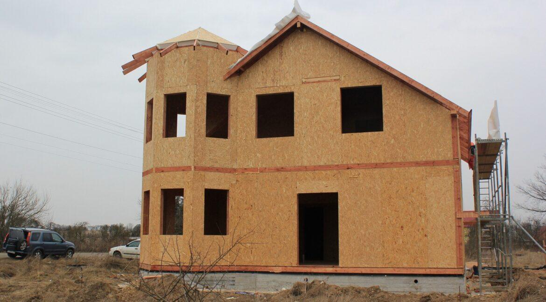 Строительство сип дома - делаем крышу - фото 013