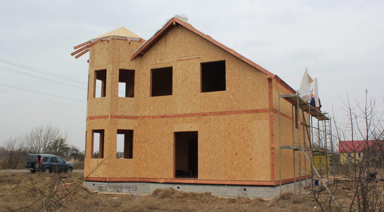 Строительство сип дома - делаем крышу - фото 014