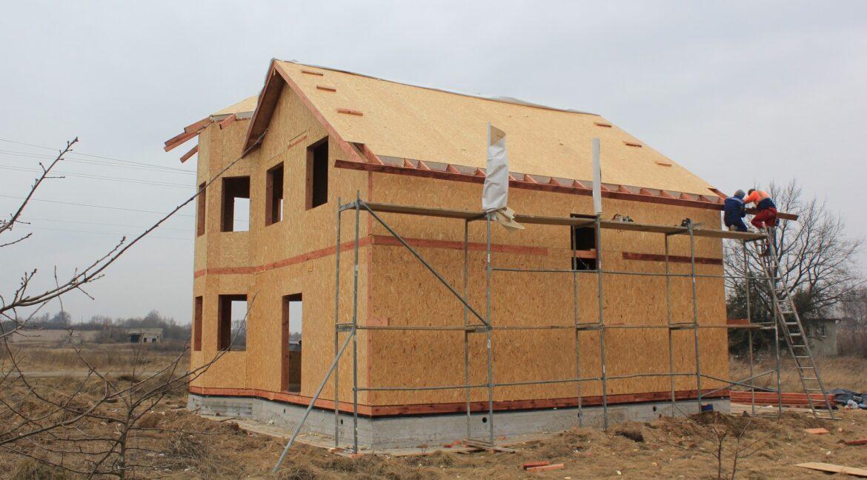 Строительство сип дома - делаем крышу - фото 015