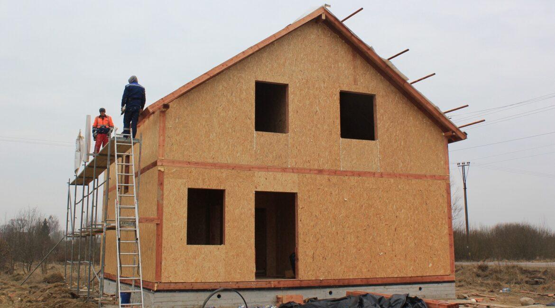 Строительство сип дома - делаем крышу - фото 016