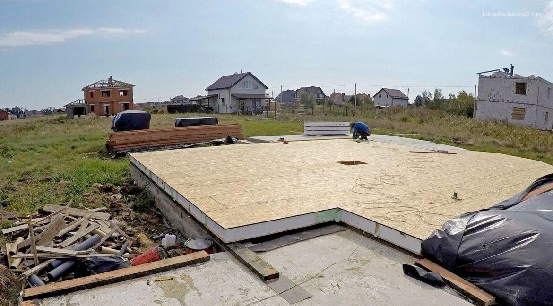 Этапы строительства сип дома. Фундамент есть. - фото 1