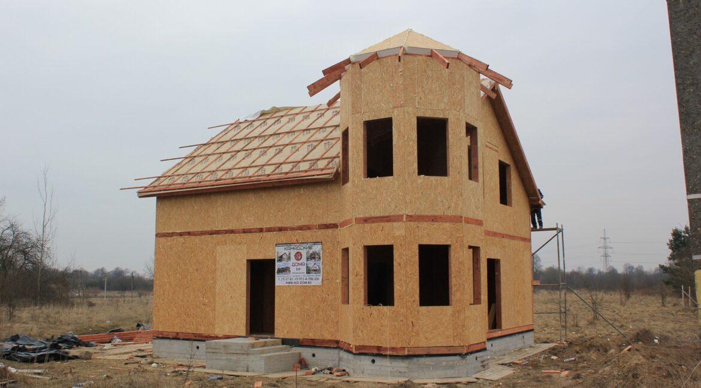 Строительство сип дома - делаем крышу - фото 017