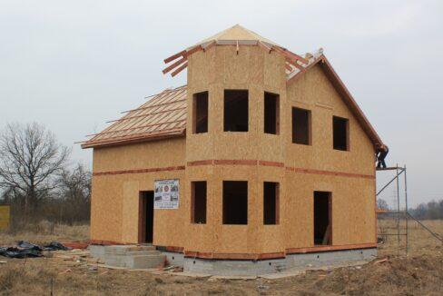 Строительство сип дома - делаем крышу - фото 018