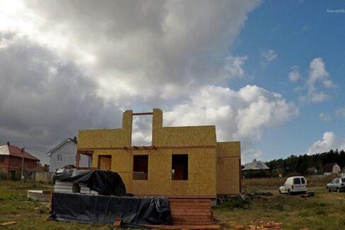 Этапы строительства сип дома. Работы продолжаются- фото 14
