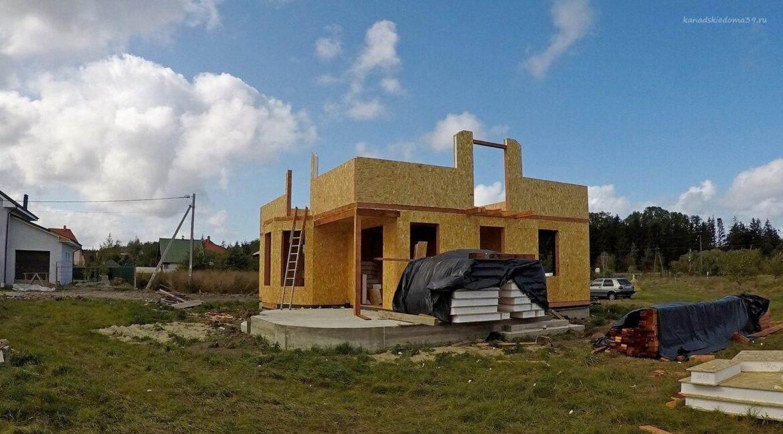 Этапы строительства сип дома. Работы продолжаются- фото 15