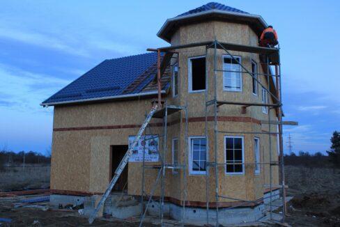 Строительство сип дома - делаем крышу - фото 023