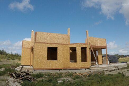 Этапы строительства дома из сип панелей. Работы продолжаются- фото 16