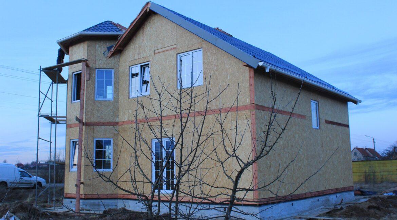 Строительство сип дома - делаем крышу - фото 026