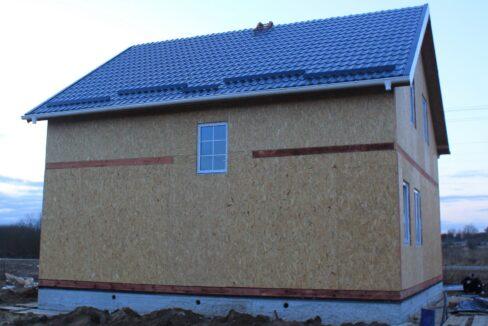 Строительство сип дома - делаем крышу - фото 027