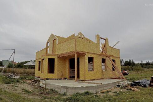 Этапы строительства дома из сип панелей. Работы продолжаются- фото 17