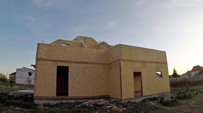 Этапы строительства дома из SIP панелей. Работы продолжаются- фото 18
