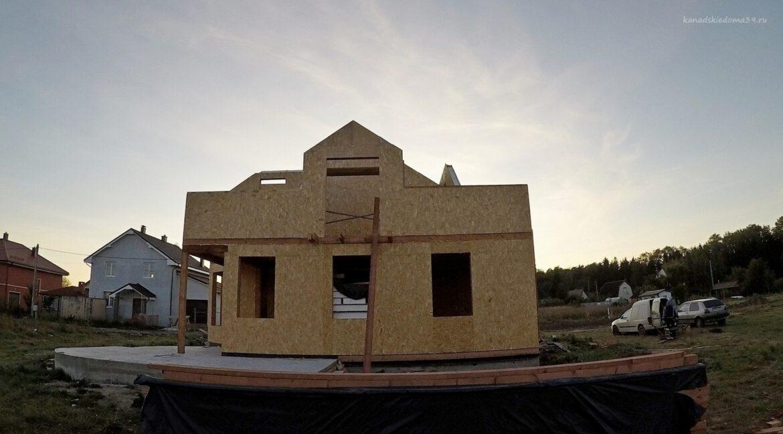 Этапы строительства дома из SIP панелей. - фото 19