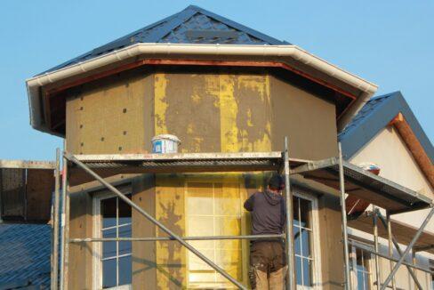 Строительство сип дома - приступаем к отделке - фото 031