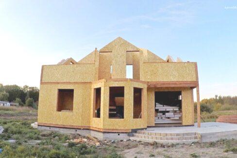 Этапы строительства дома из SIP панелей. - фото 20