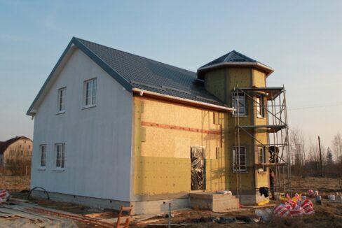Строительство сип дома - приступаем к отделке - фото 033
