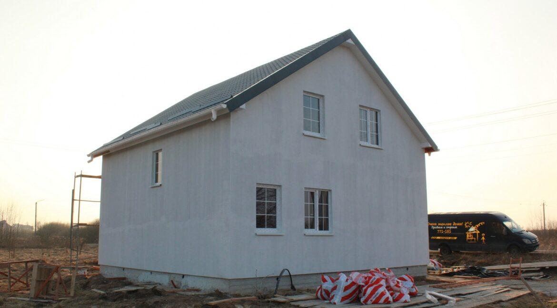 Строительство сип дома - завершение стрительства - фото 034