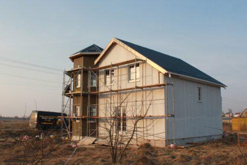 Строительство сип дома - завершение строительства - фото 035