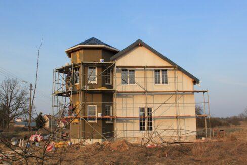 Строительство сип дома - завершение строительства - фото 036