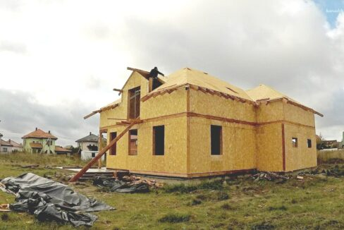 Этапы строительства дома из SIP панелей. Приступаем к крыше - фото 22