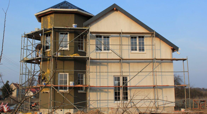 Строительство сип дома - завершение строительства - фото 037