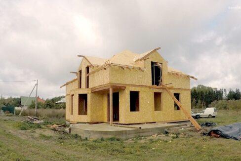 Этапы строительства дома из SIP панелей. Приступаем к крыше - фото 23