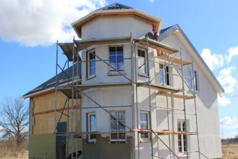 Строительство сип дома - завершение строительства - фото 038